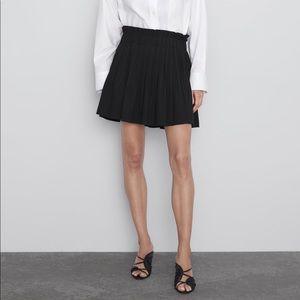🔥🆕🔥Zara Pleated Mini Skirt